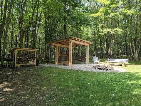 Make campfire memories at Hogback Lodge!