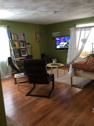 Private studio apartment near UofR/RIT/airport - Rochester - Lejlighed