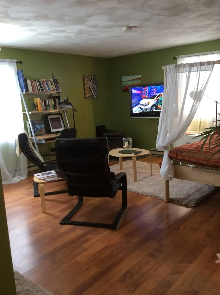 Private studio apartment near UofR/RIT/airport