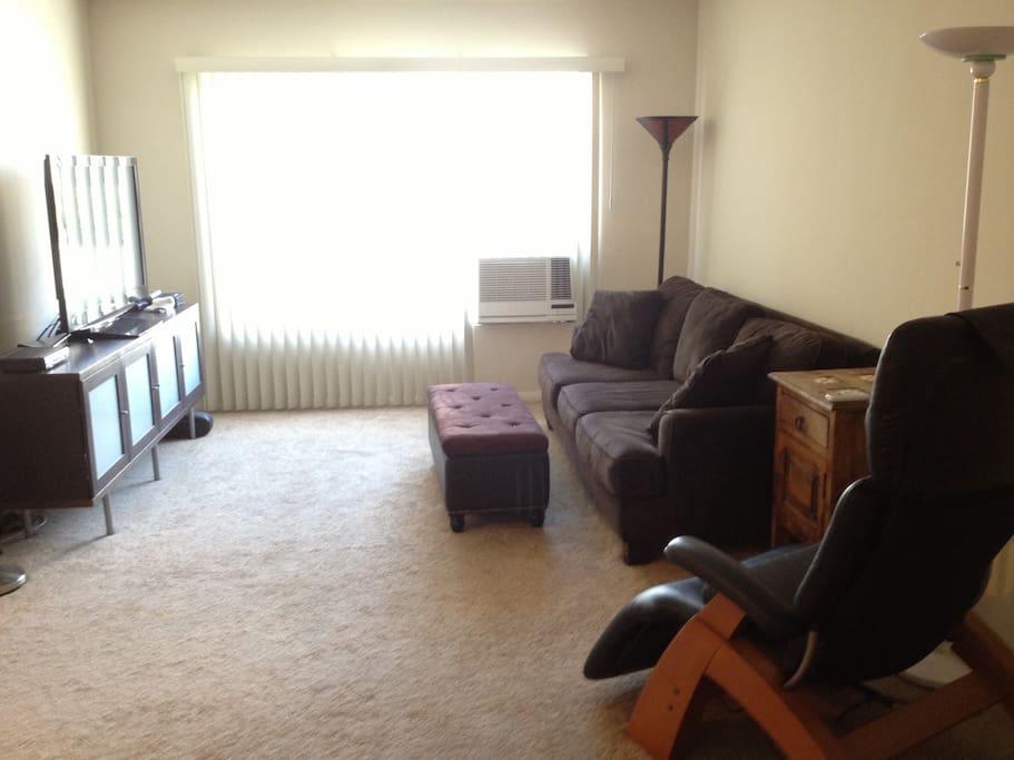 Living room - lots of light :)