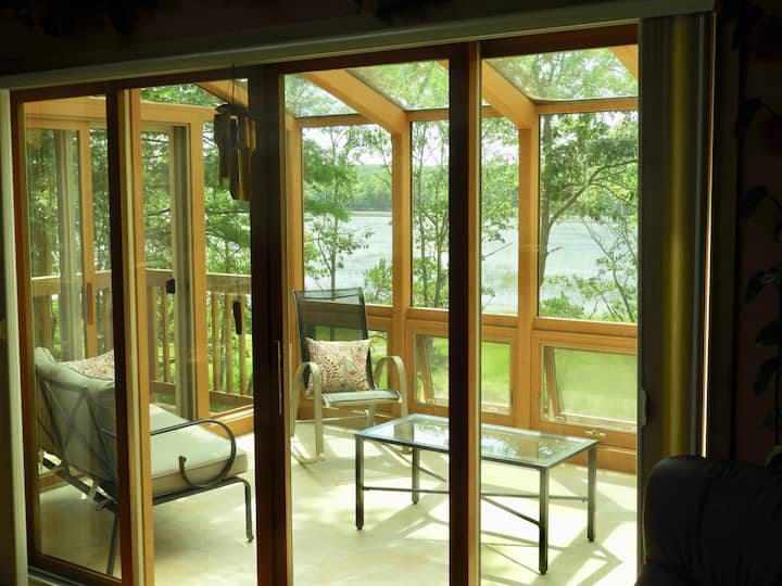Wilderness in Your Living Space by Cove near Beach
