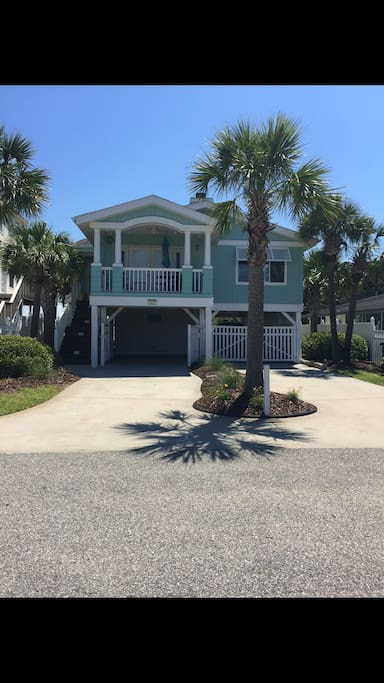 Tropical Paradise With New Heated Pool Sleep 8 10 Houses For Rent In North Myrtle Beach