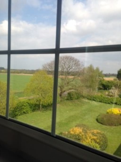 Stunning open countryside views