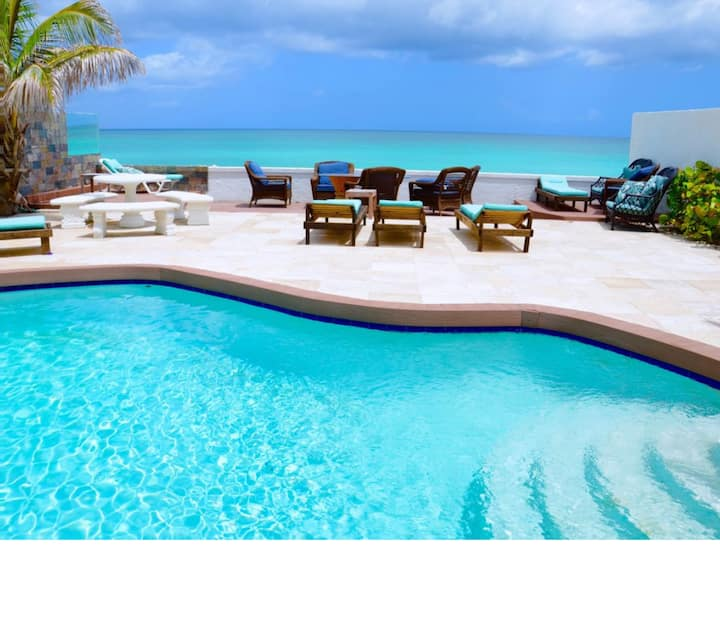 Oceanfront Luxury Villa #14, private pool in Gated Community