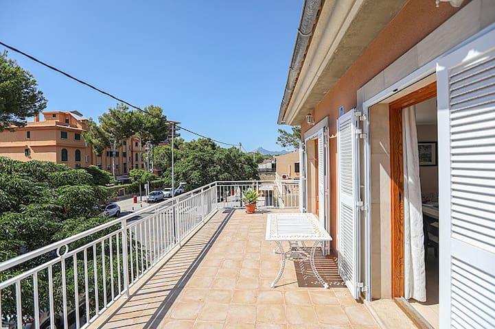 Apartamento cerca de Port Adriano, espectacular