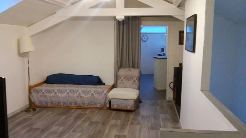 Appartement tranquille face à la forêt NOUZONVILLE