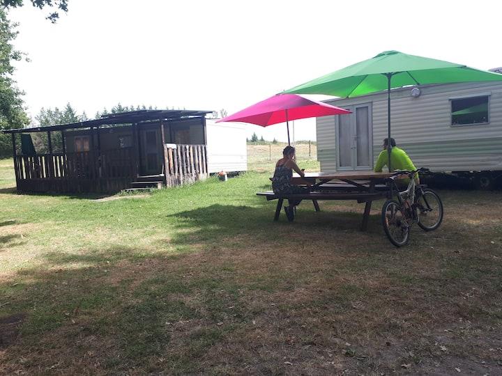 Location de Mobile Home dans Ferme Equestre