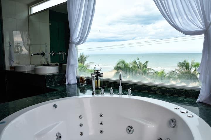 Beach Palace - Luxury Beachfront Condo Cha am 2BR