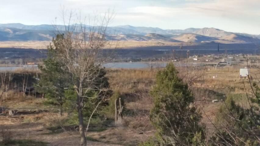 Eclectic Boulder Studio, Great Views & Location