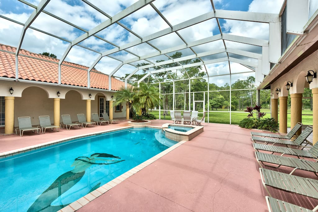 Private Estate Home, Sleeps up to 20, Pool & Spa - The Knickerbocker Estate of Naples - Naples Florida Vacation Homes