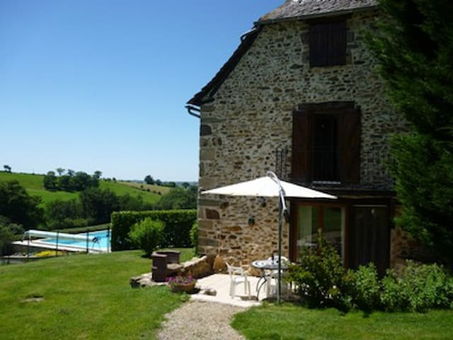 A beautiful character gite with private pool