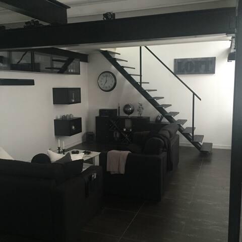 Très beau loft high tech - Paris - Apartment