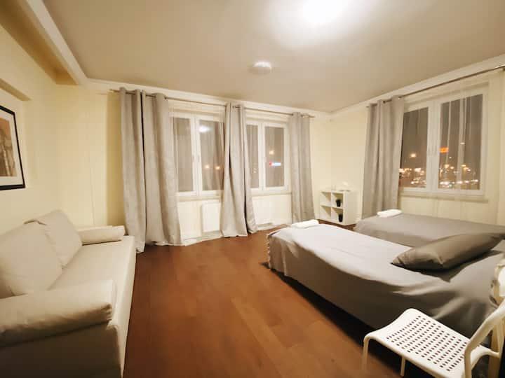 STARK ROOMS/Family hotel(1st floor)