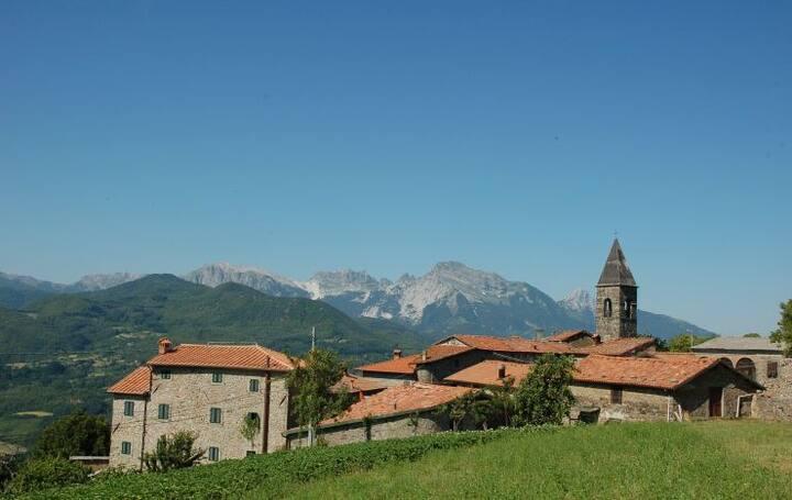 Tuscan retreat in the unspoilt Garfagnana region