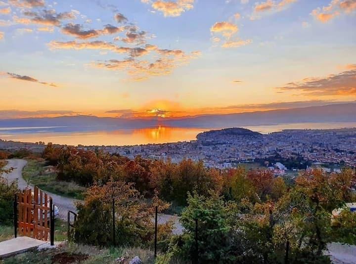 City view apartment Ohrid