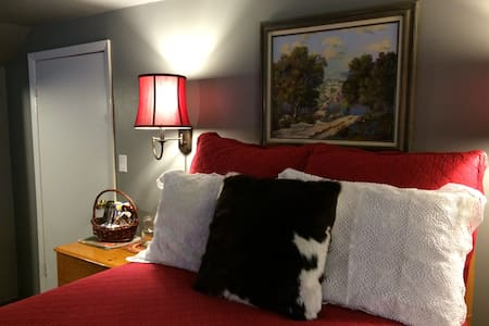 "Ski and Stay at Idle Day Cottage ""Texas Room"" - Sagle - Talo"