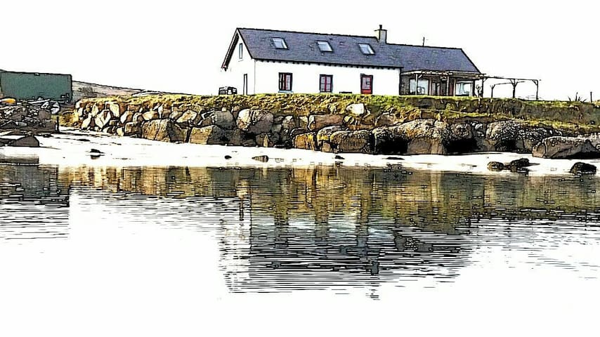 Traigena Bay (Trawenagh) Cottage - Lettermacaward - Rumah