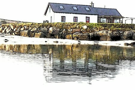 Traighena Bay (Trawenagh) Cottage - Lettermacaward - Ev