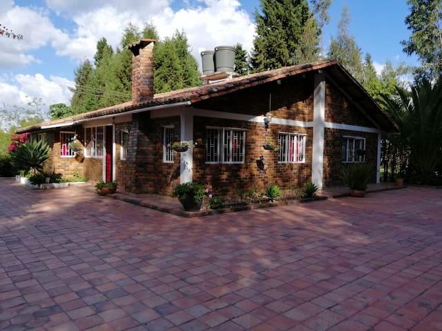 Cabaña de descanso en Boyacá