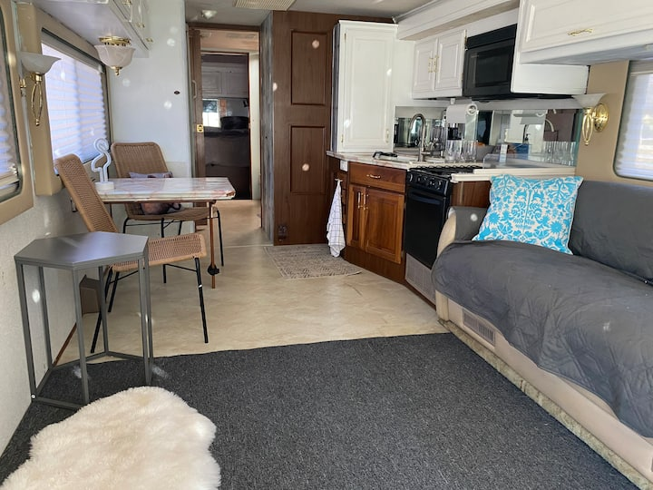 Pet friendly RV home by the marina