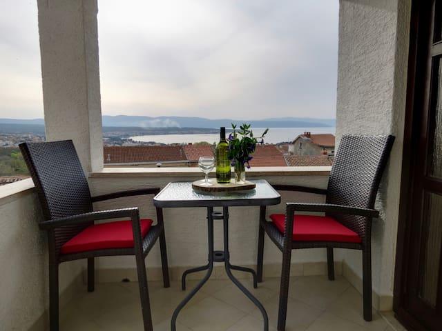 Turmblick: Cres - panorama view - Sveti Vid-Miholjice - Casa