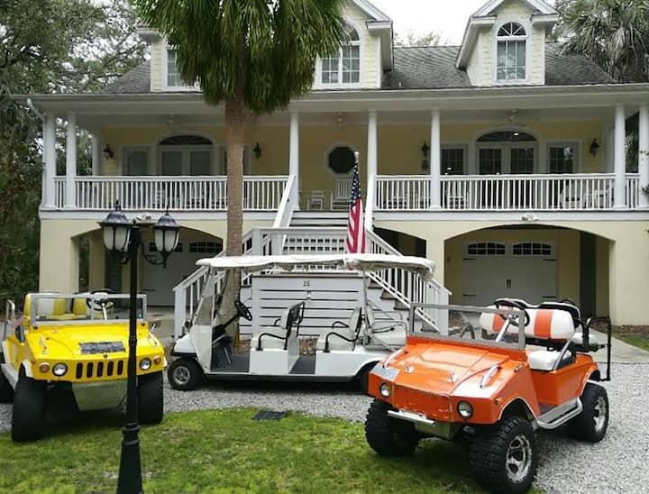 Southern Belle Luxury Home, Hummer Cart, Sleeps 13