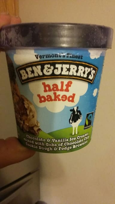 """1 free pint of """"Ben and Jerry's"""" for your stay"""
