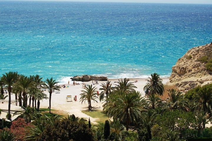 Brilliant seasight, quiet beach, 4p - La Vila Joiosa/Villajoyosa - Apartemen
