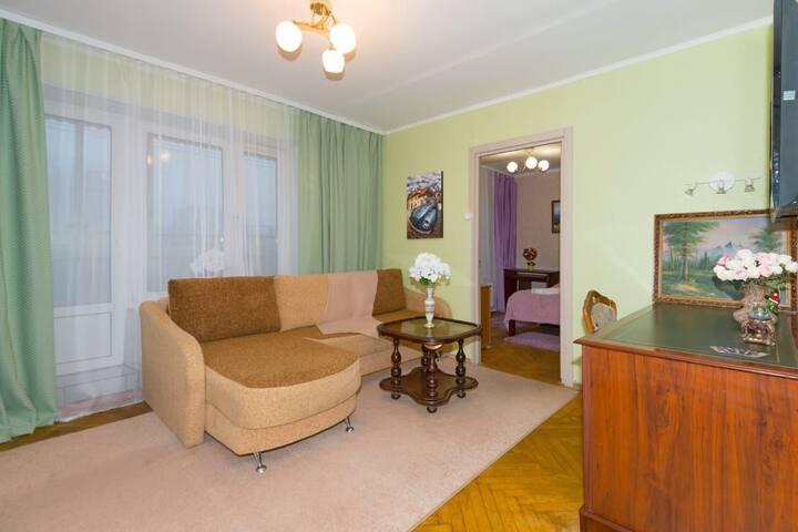 Уютная 2х комнатная квартира метро Рязанский пр-т