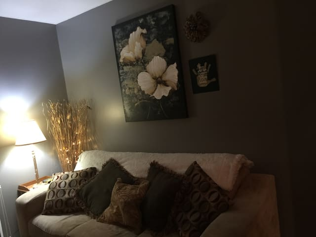 Double bed, private room near I80 and I 74 - Bettendorf - Apto. en complejo residencial