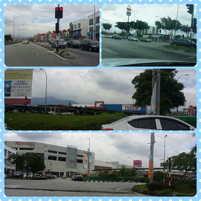 MY HOMESTAY NEAR PLACE HAD SHOPPING CENTRE, 66 FOOD COST, MC, 7 MARKET..........