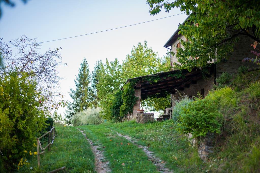 Arrival at Casolare - La Bella Toscana