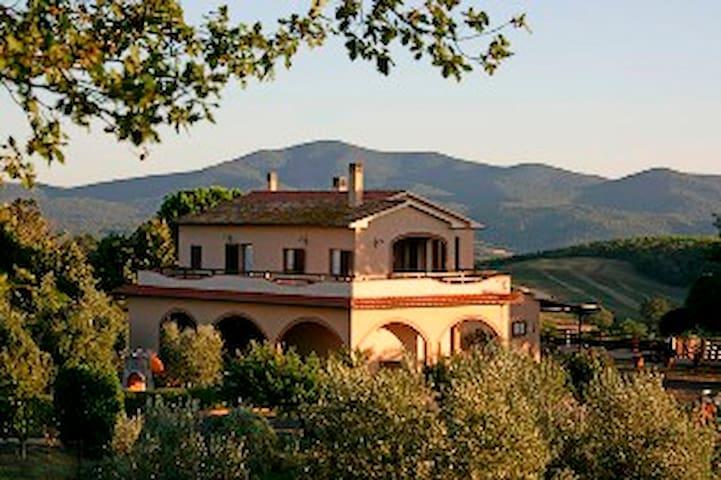 villa in maremma near Siena, Montalcino, Pienza