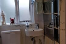 Separate private bathroom