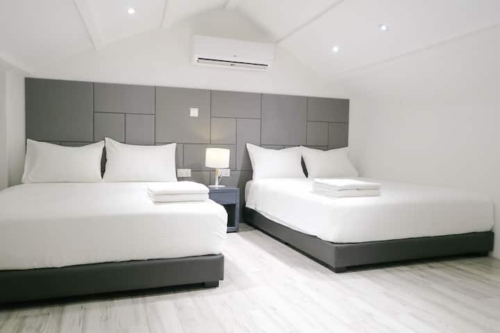 New Comfy 2 Queen Beds Room-Suite @ City Central