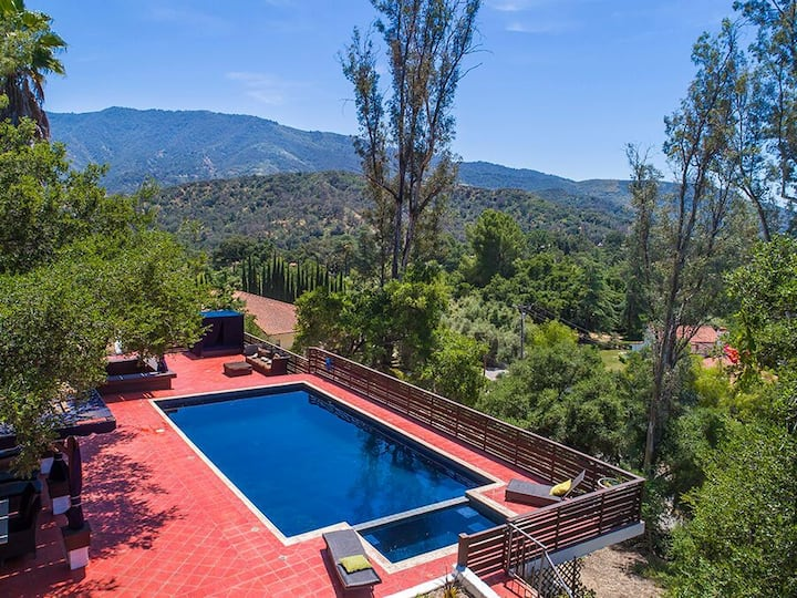 The Ojai Pool and Spa Estate