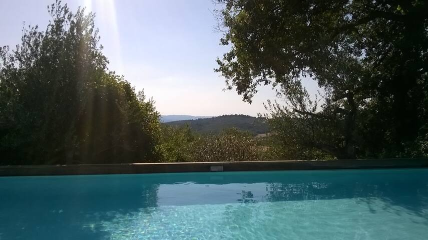 Villa in Tuscany, pool, air cond.
