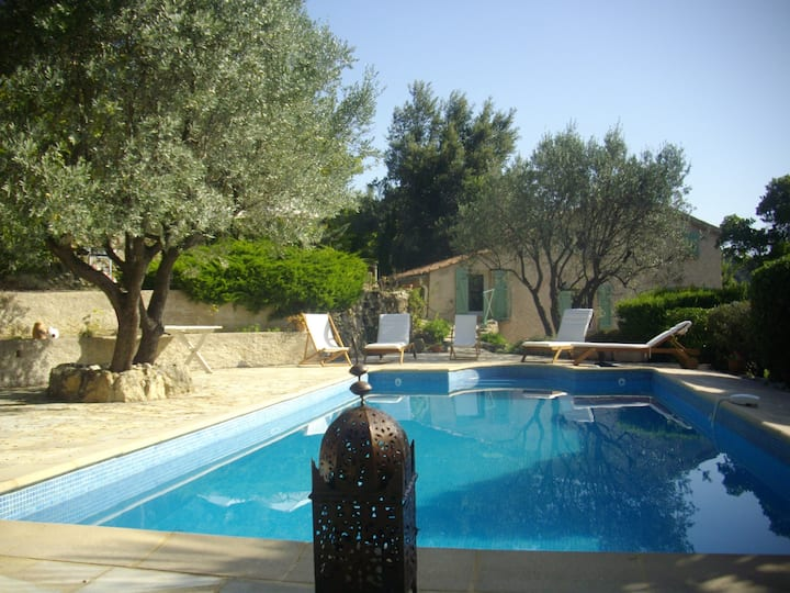 Villa+piscine, 8-10 persons, Figanières, Provence