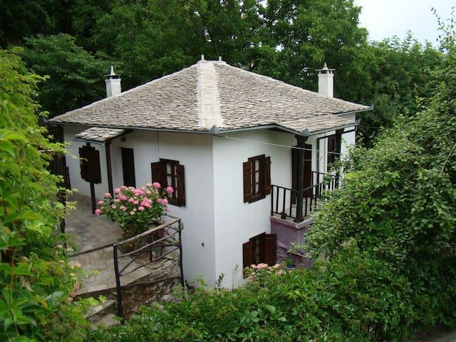 Wood & Stone House
