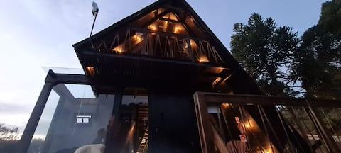 Stone Hill Cabin- Hidro com uma vista espetacular