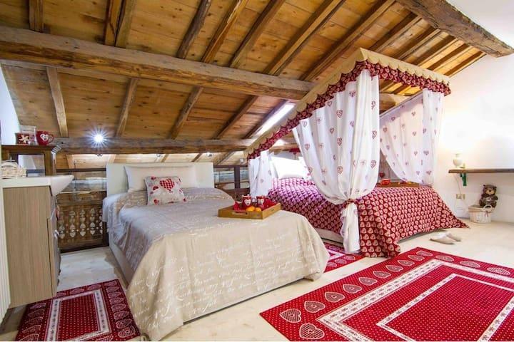 Loft Giuly vivere nelle mura antiche del 700