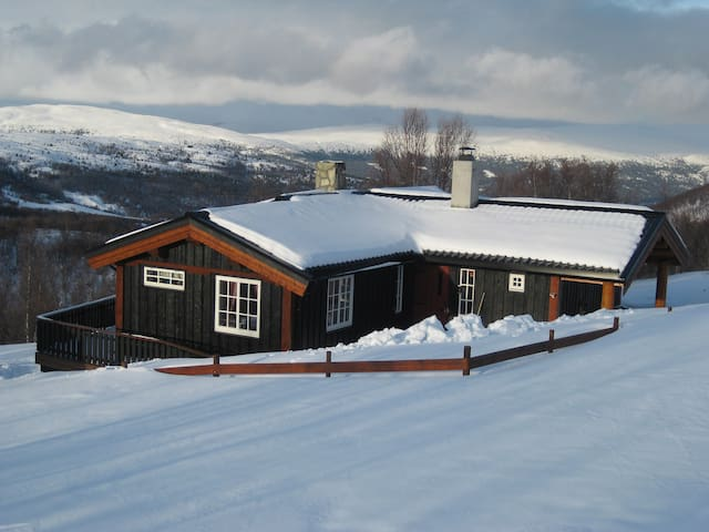 Svartlihytta backtobasic cabin in Jotunheimen