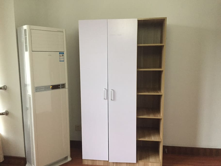 New bigger  Air conditioners  with wardrobe
