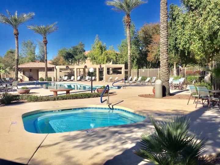 Spacious Resort Style Condo in Chandler AZ