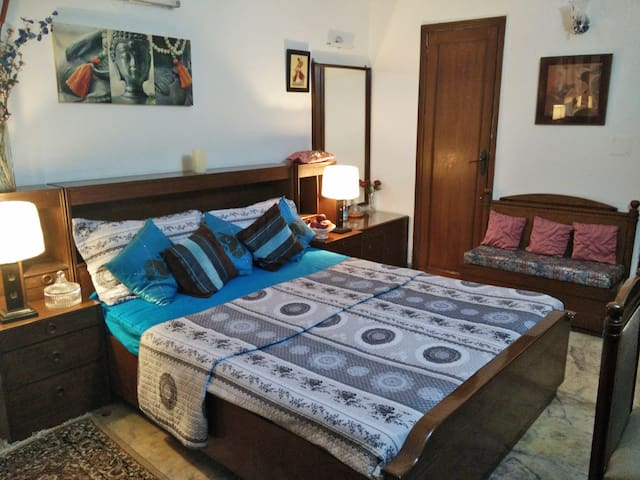 Comfortable private room in G k. 1. - New Delhi - Apartment