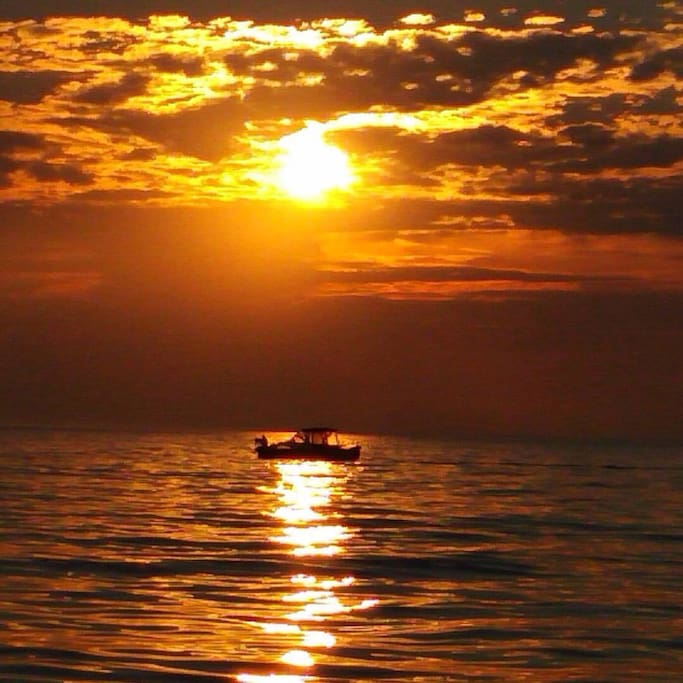 Oliphant sunset