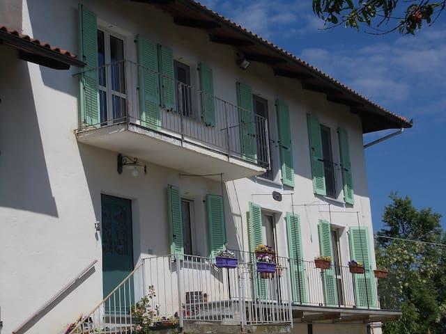 Natura e relax tra le colline del Monferrato - Pino D'asti - House