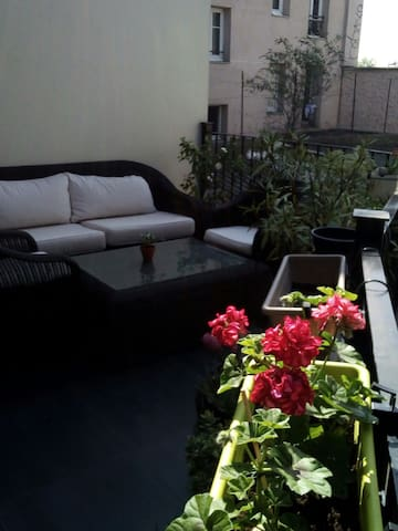 Appartement Terrasse à Paris/Stade de France - Saint-Denis - Leilighet