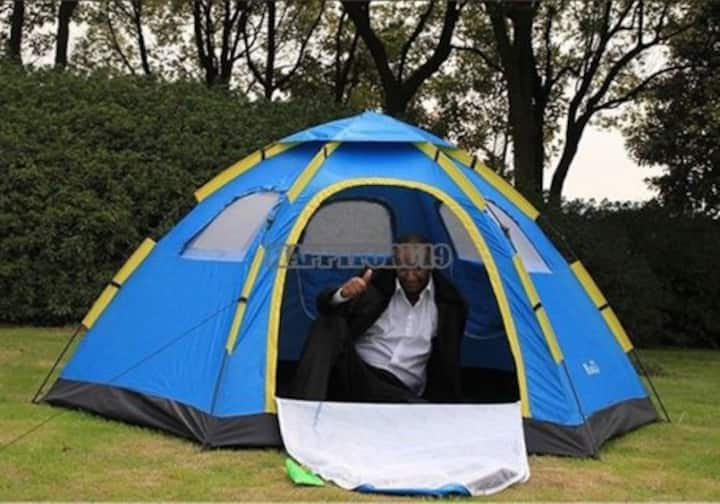 Camping in Paradise with many Luxury Amenities
