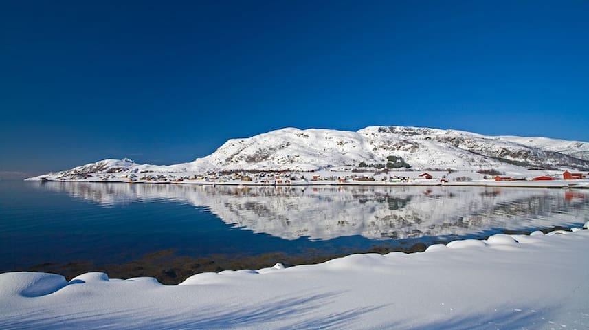 Skulsfjord at wintertime